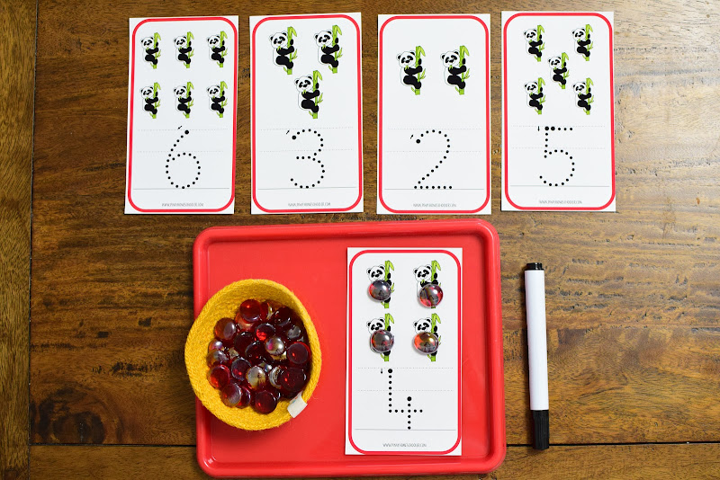 COUNTRY STUDY CHINA: Number Tracing Activity