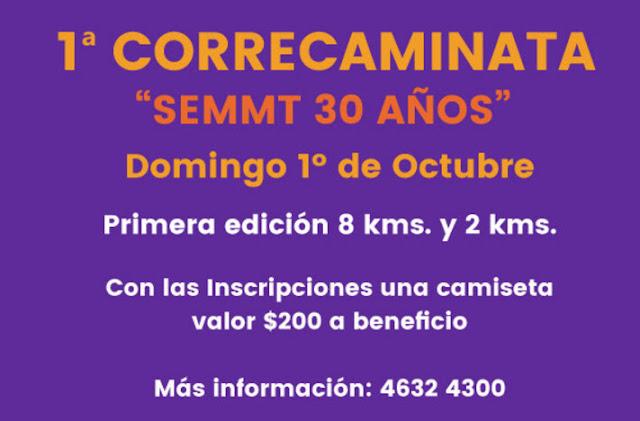 8k y 2k por 30º Aniversario SEMMT en Tacuarembó (01/oct/2017)