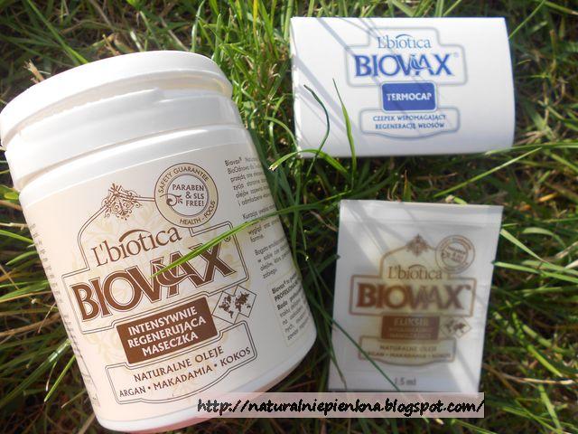 L`Biotica, Biovax Naturalne Oleje, Intensywnie regenerująca maseczka - Argan, makadamia i kokos - recenzja