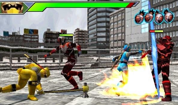 Power Rangers Ninja Storm PS1