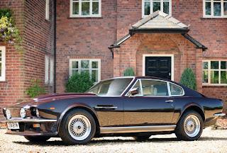 1977 Aston Martin V8 Vantage Front Side Picture