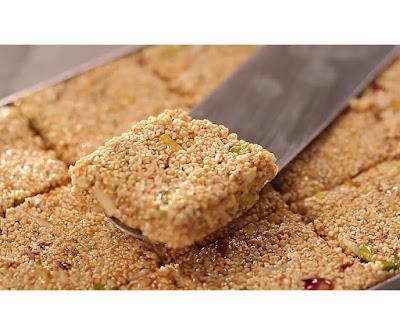 how to make rajgira chikki at home