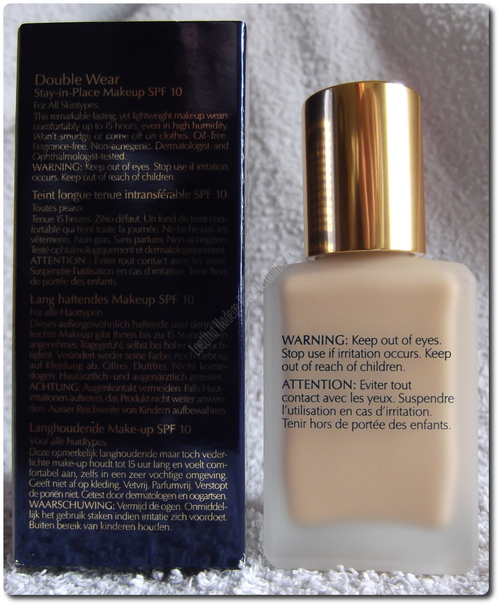 ESTEE LAUDER  Double Wear Foundation Stay in Place Makeup