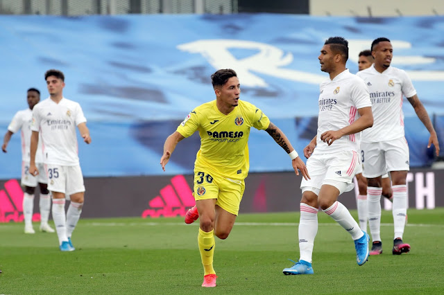 Prediksi Liga Spanyol :  Real Madrid vs Villarreal