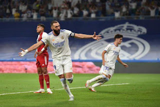 ريال مدريد ضد سيلتا فيجو: بنزيمة وهازارد يقودان ريال مدريد في البرنابيو