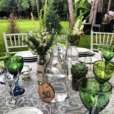 Estilismo para las mesas, table ware: cristaleria, cuberteria y colores con personalidad