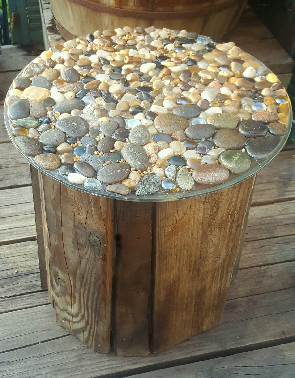 I Really Really Really Like The Rustic Look And Country Charm Of This  Version Of My Bucket Table!