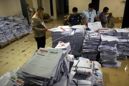 FPI Temukan 4 Ton Surat Suara Rusak di Percetakan Tribun Timur Makassar Belum Dimusnahkan