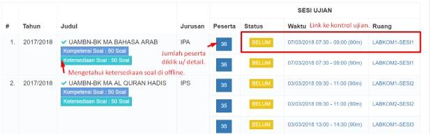Update Terbaru Aplikasi Server dan Client UAMBN-BK V1.3.2