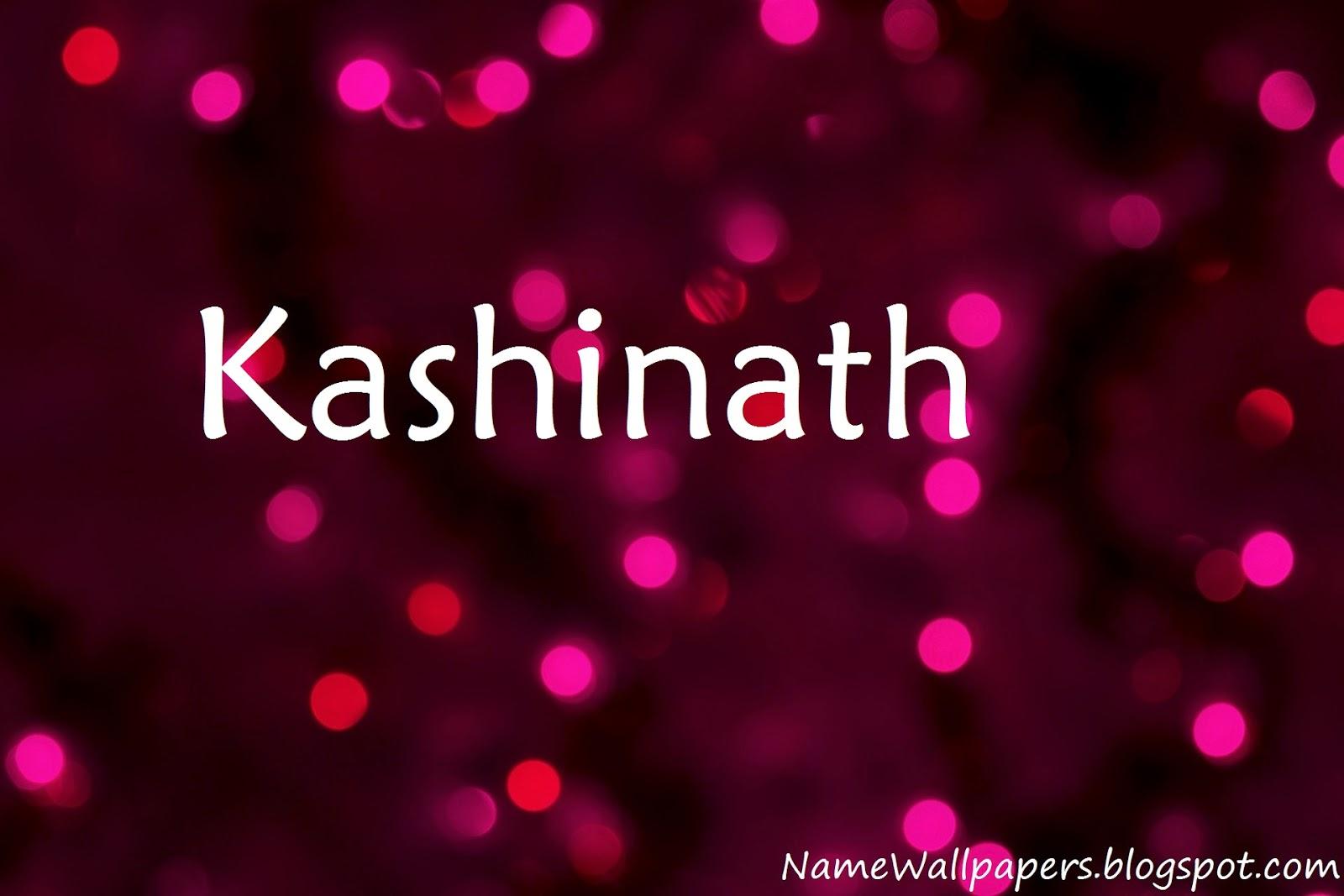 kashinath name