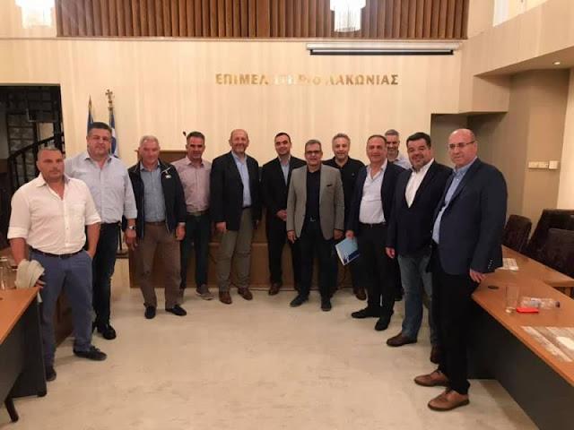 Στο Γύθειο συνεδρίασε το  Περιφερειακό Επιμελητηριακό Συμβούλιο Πελοποννήσου