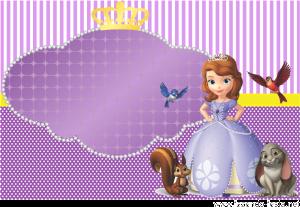 Para Imprimir Kit Imprimible De Princesa Sofía