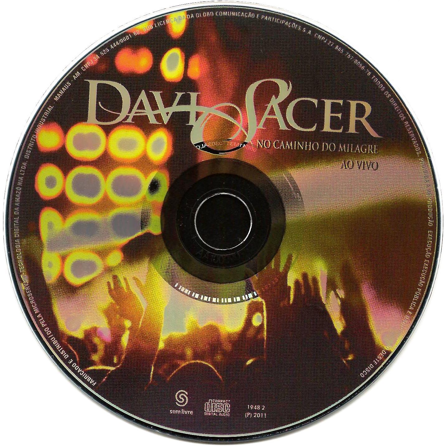 GRATIS MILAGRE DO DAVI CAMINHO DVD NO BAIXAR SACER