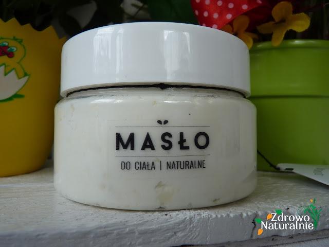 Domowy Kosmetyk - Naturalne masło do ciała