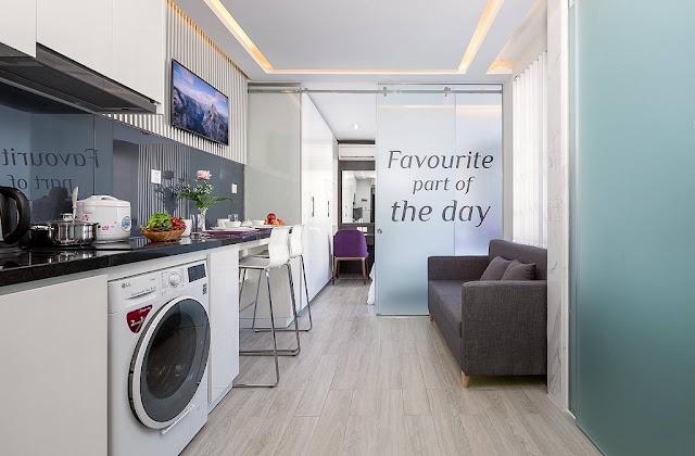 Phòng bếp căn hộ