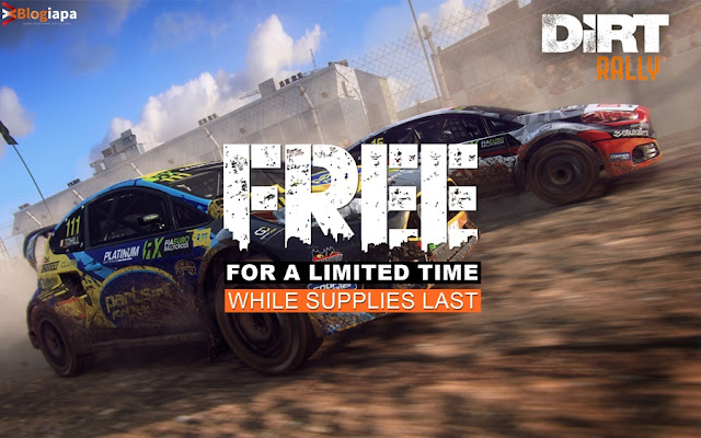 Download Dirt Rally for free for a limited time