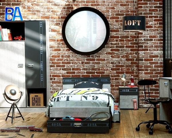 Comment aménager sa chambre à coucher pour une déco industrielle