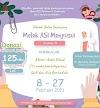 "Lactashare Charity Class ""Sekolah Online Berjenjang: Melek ASI Menyusui"" 8-27 Februari 2021"