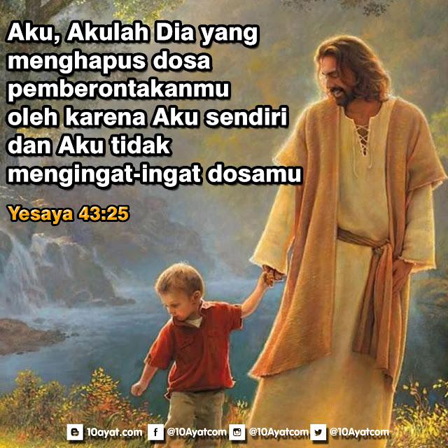 Yesaya 43:25