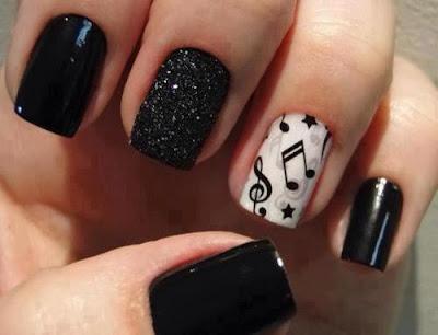Resultado de imagen para diseños de uñas con remolino de colores
