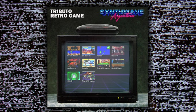 Tributo Retro Game! El nuevo compilado de Synthwave Argentina