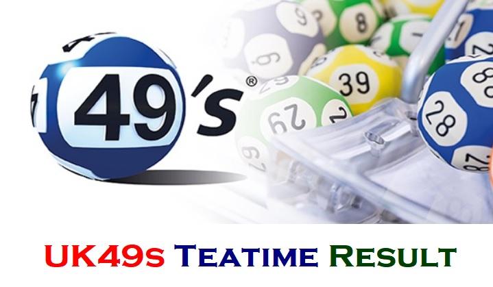 UK49s Teatime Result 29 July 2021