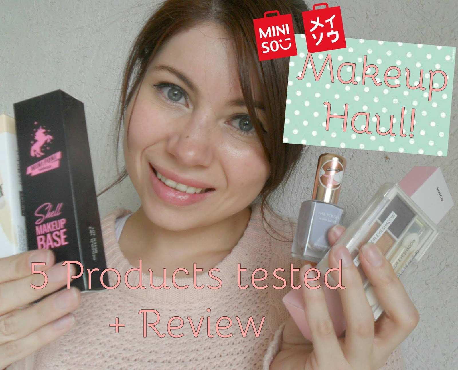 Monstar S Little Blog Miniso Makeup Haul 5 Products Tested Review