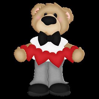 Lovely Bear Family Clip Art.