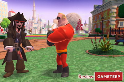 Free Download Game Disney Infinity Action! MOD APK (Characters Unlocked) Terbaru 2018 Screenshot