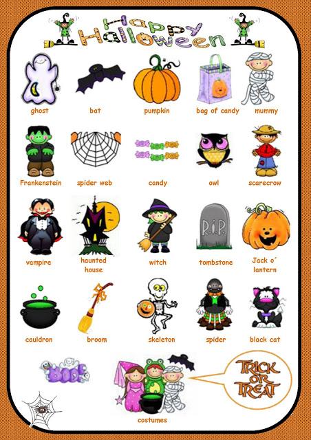 Welcome To The English Blog! Escuela 07 De 17 República De México Let´s Learn About Halloween