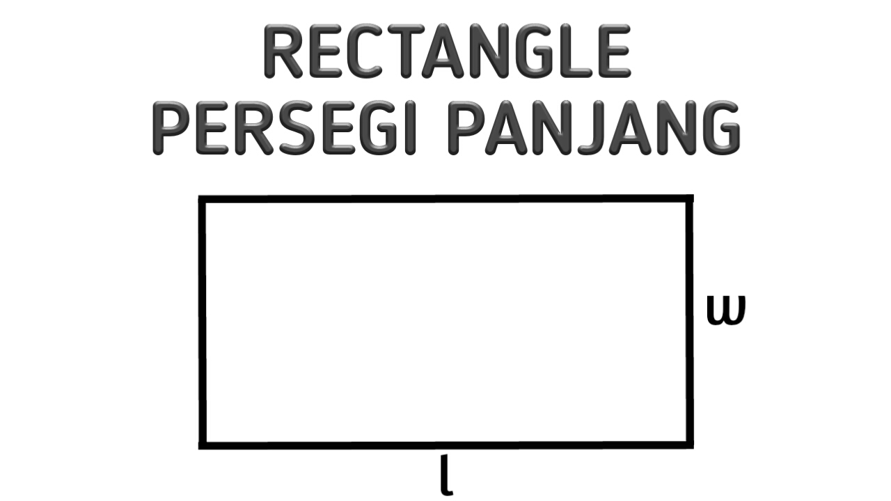 Perimeter Of Rectangle Keliling Persegi Panjang Math Calculator Kalkulator Matematika