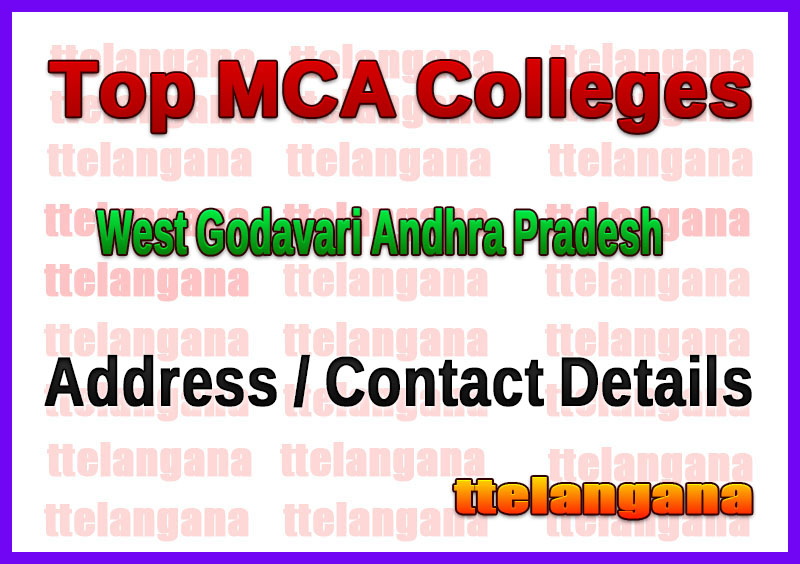 Top MCA Colleges in West Godavari Andhra Pradesh