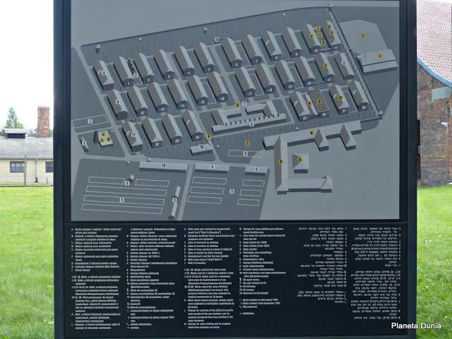 Mapa Campo de Concentración