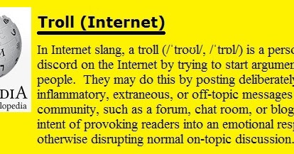 Internet Trolls, the College of Western Idaho, and public vs. private