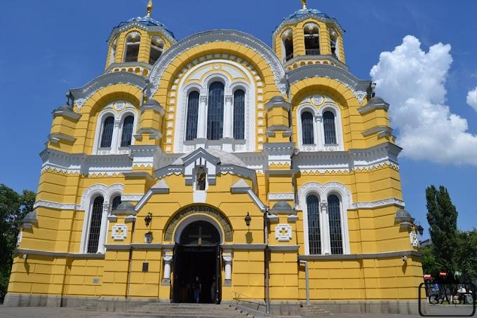 Kijów - stolica o złotych kopułach