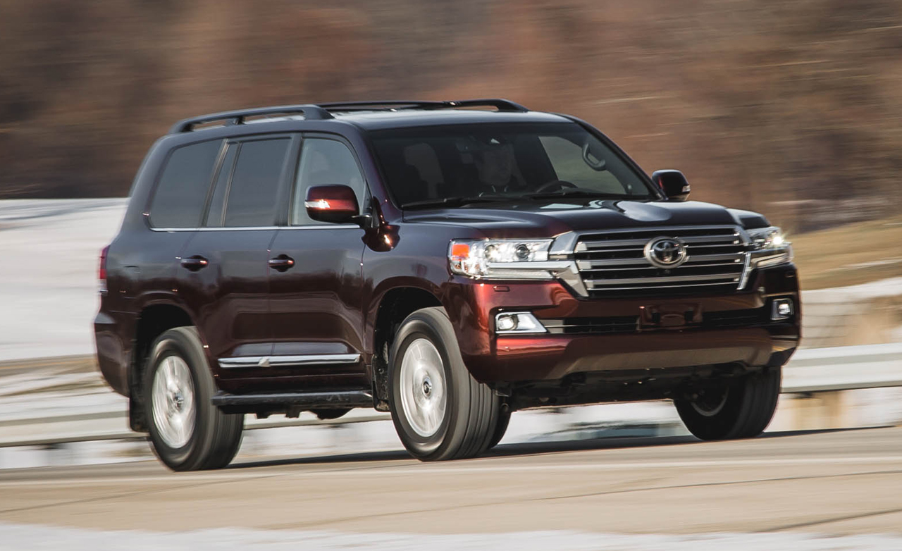 2016 Toyota Land Cruiser Specs
