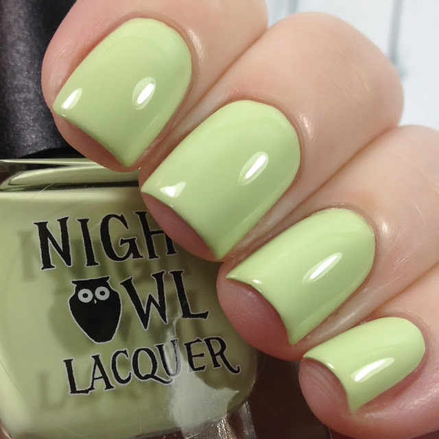 Night Owl Lacquer-Frosted Pine