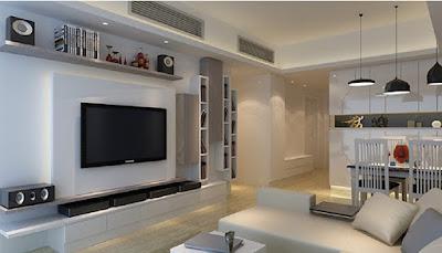 Che giấu vị trí đặt máy điều hòa bằng nội thất