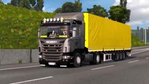 Scania G420 & Trailer