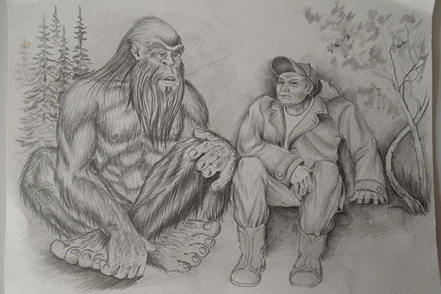 Yeti bigfoot russia