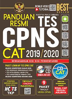 Paket Tes CPNS CAT 2019 Oleh Raditya Panji Umbara
