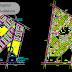 مخطط تهيئة لحي جديد طرقات + عمارات اوتوكاد dwg