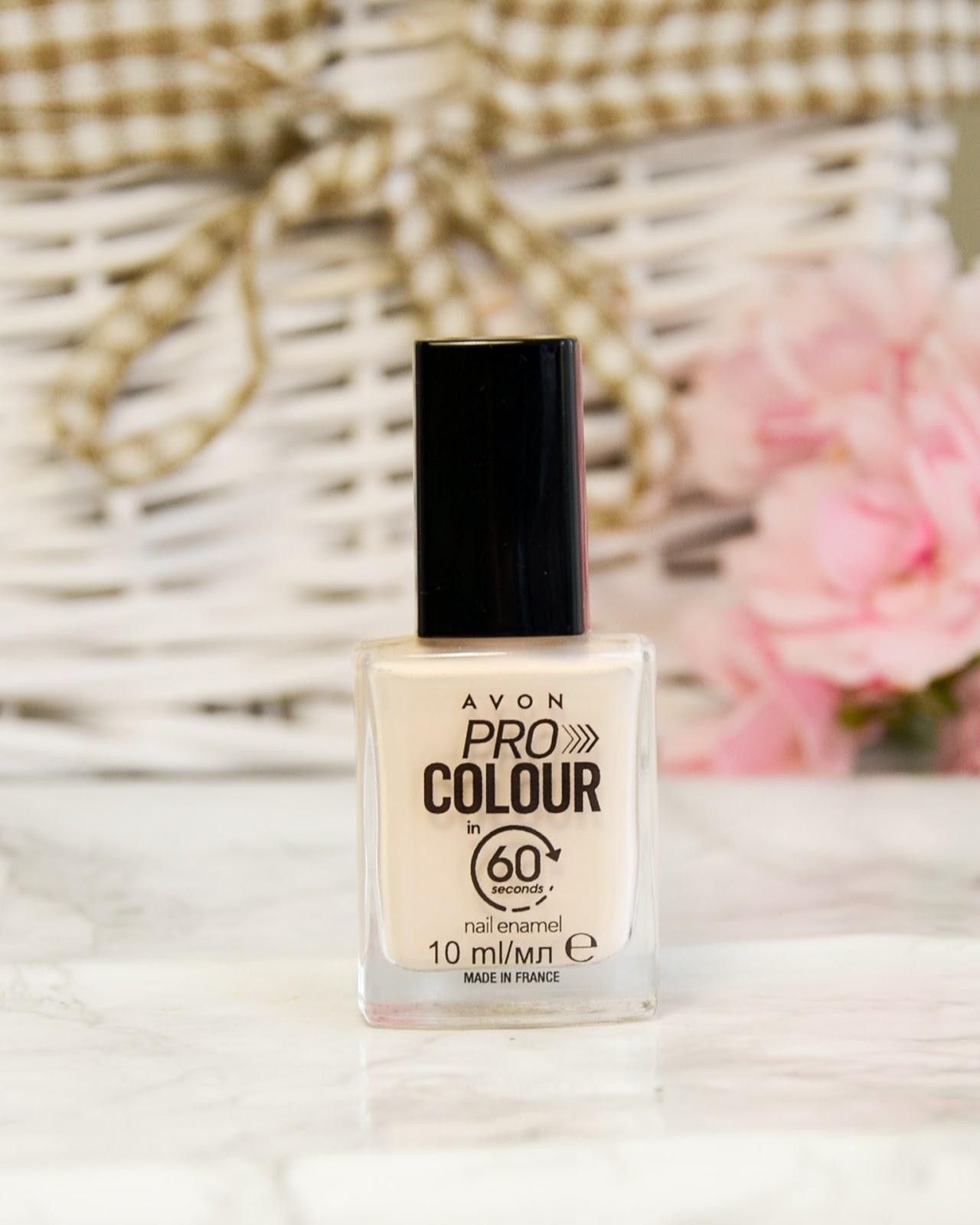 Avon Pro Colour in 60 Seconds Nail Enamel Chop-Chop Cream