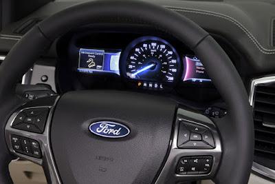 Các tín hiệu cảnh báo bằng đèn trên xe ford laser