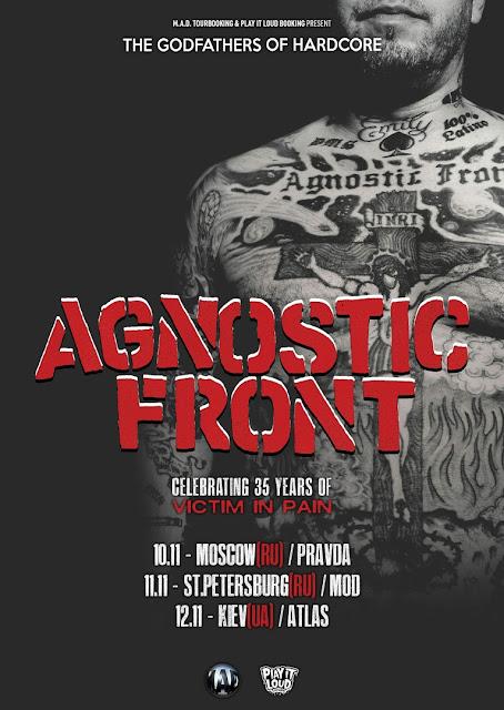 Agnostic Front в России
