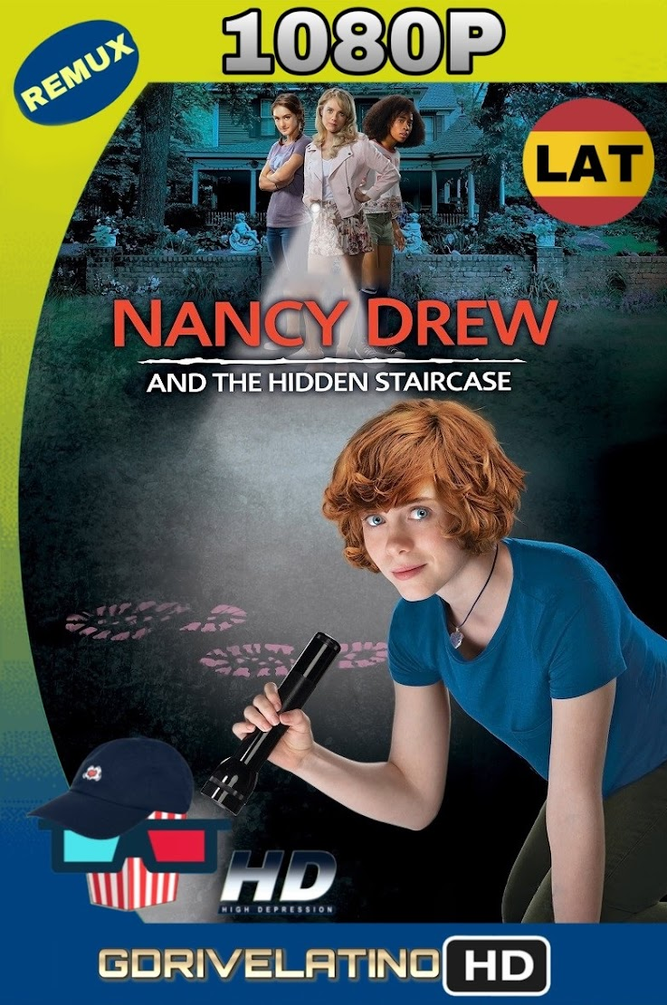Nancy Drew y La Escalera Escondida (2019) REMUX 1080p Latino-Ingles MKV