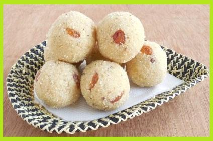 सूजी के लड्डू बनाने की विधि - Sooji/Rava Ladoo Recipe in Hindi