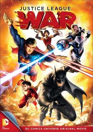 Justice League: War DVD cover