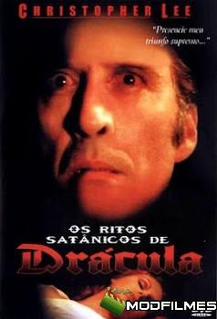 Capa do Filme Os Ritos Satânicos de Drácula