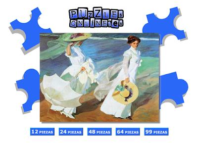 http://www.puzzlesonline.es/puzzle/paseo-a-orillas-del-mar/